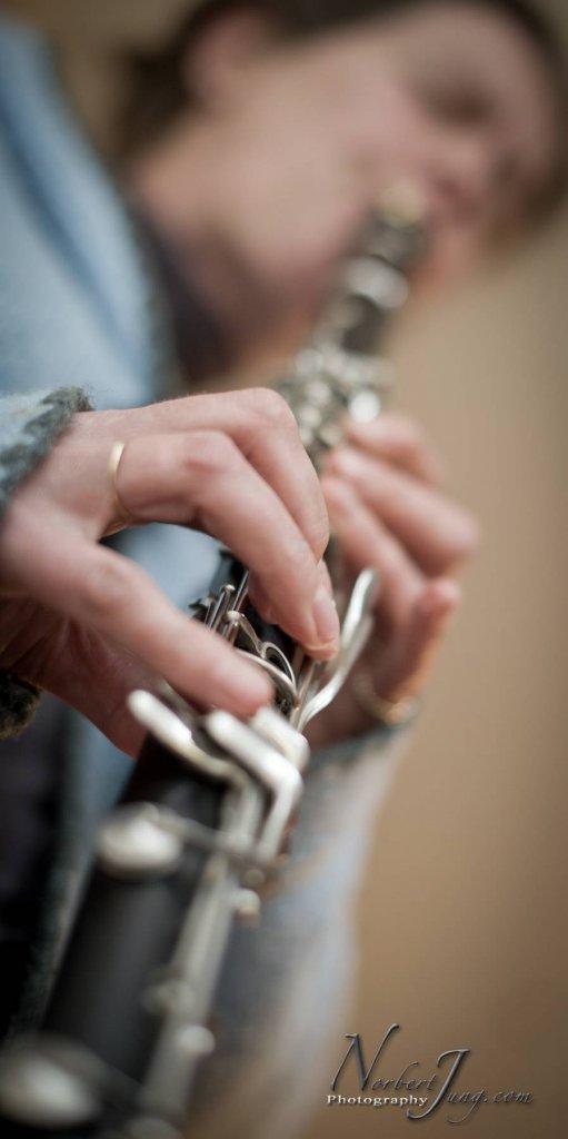 dialogue entre voix et clarinette